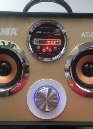 Портативная колонка Atlanfa АТ-8813 (MP3, FM, AUX, Bluetooth)