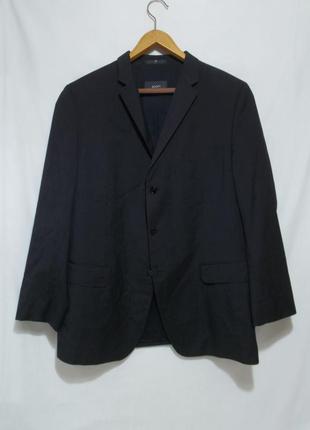 Пиджак темно-серый антрацит тонкая шерсть 'joop' 54р