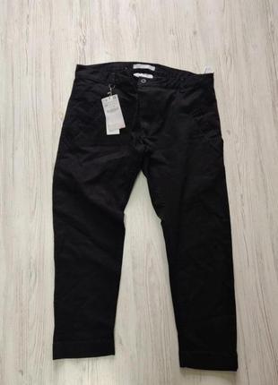 Sale распродажа  до 30 июня 🔥  черные зауженые джинсовые бриджы