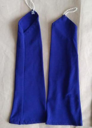 Перчатки темно синие