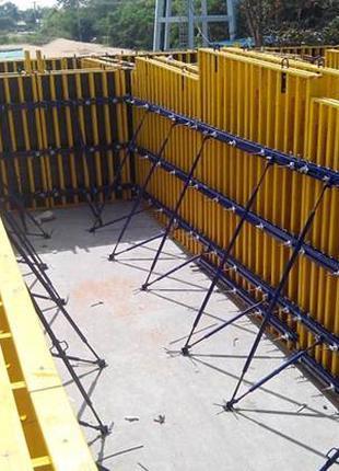Стойка опалубки 4.2 м, опалубка перекрытий, стеновая опалубка
