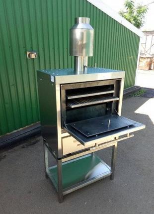 Хоспер, печь-гриль(на углях), Печь на древесном угле ПДУ-800