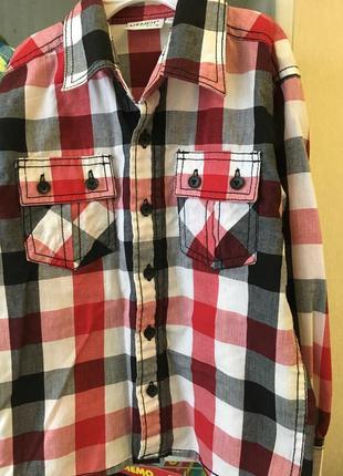 Рубашка на 5-6 лет или110 см