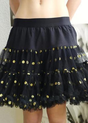 Блестай!/пышная, невероятно красивая юбка для кокетки (италия)