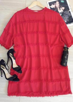 Стильное платье от zara размер m-s