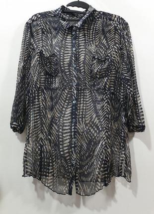 Шёлковая блузка carlo colucci