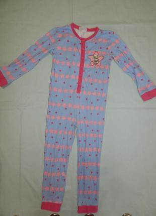 Me to you слип пижама человечек трикотажный на девочку 5 лет