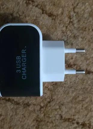 Зарядное устройство на три usb