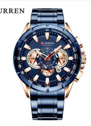 Часы наручные мужские CURREN BlueGold 8363 D009A