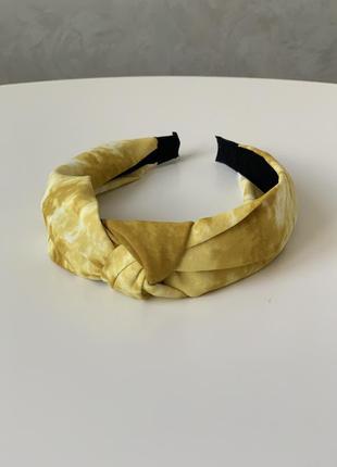 Стильный обруч ободок повязка на голову в стиле zara чалма