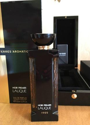 Lalique Terres Aromatiques 1905_Оригинал  Parfum 3 мл_затесn