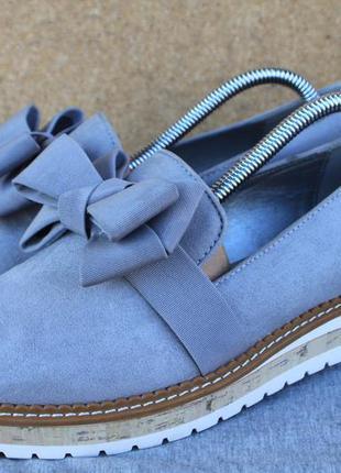 Кеды graceland текстиль германия 38р лоферы туфли