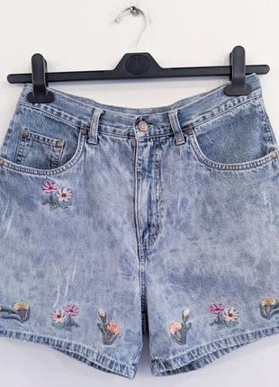 Шорты джинсовые на очень высокой посадке италия