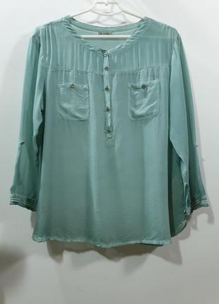 Свободная шелковая блузка nile