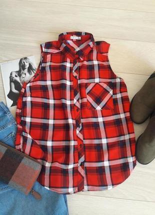 Базовая /блуза/рубаша от bershka размер m