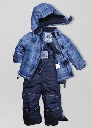 Термо полукомбинезон и куртка комплект 86-92 тсм tchibo германия
