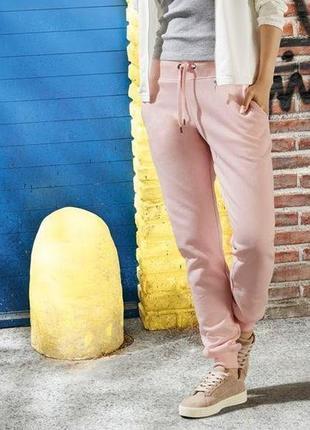 Мягусенькие штаны джоггеры на флисе esmara германия