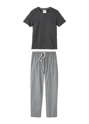 Мужская пижама костюм для дома livergy германия 56-58