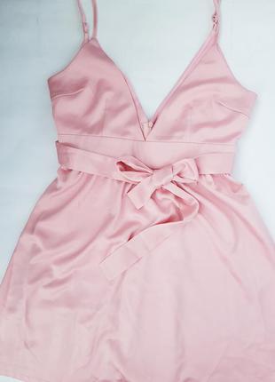 #розвантажуюсь мини платье в бельевом стиле на тонких бретелях...