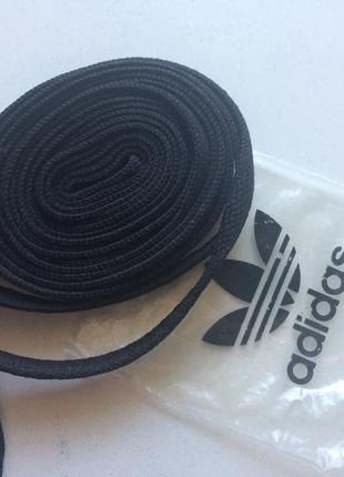 Новые плоские шнурки adidas, оригинал