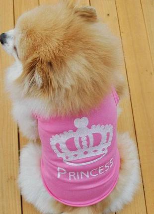 Футболка для маленькой собачки Princess 3286-35