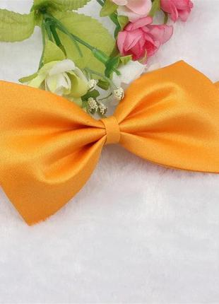 Бабочка для собаки или кошечки оранжевая 3197-8