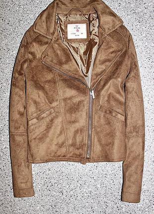 Куртка косуха замш одежда 9-10 лет