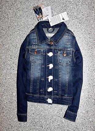 Джинсовая куртка одежда 5-6