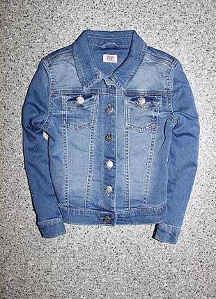 Джинсовая куртка джинсовка одежда 5-6