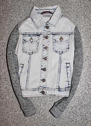 Джинсовая куртка одежда 9-10 лет некст next