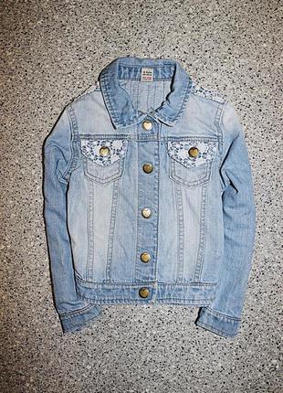 Куртка джинсовая одежда 4-5 лет
