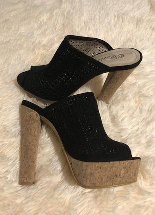 Идеальные летние туфли на высоком каблуке