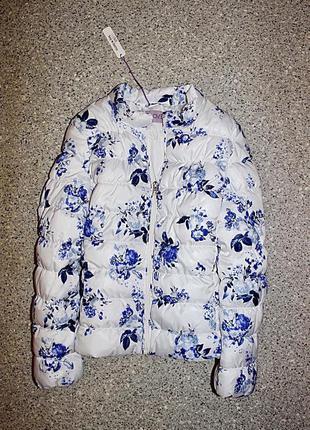 Демисезонная куртка одежда 9-10 лет