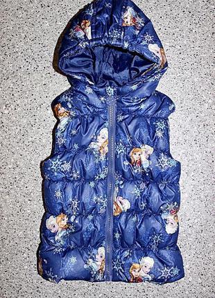 Жилетка frozen анна эльза одежда девочка