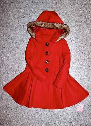 Пальто девочка 2-3 года