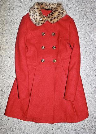 Пальто шерстяное одежда 12-13 лет