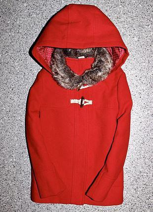 Демисезонное пальто 4-5 лет