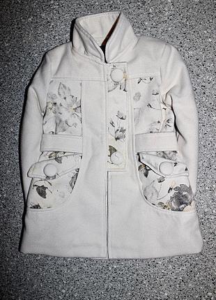 Демисезонное пальто 2-3 года