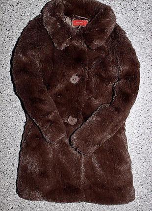 Шубка пальто  2-3 года