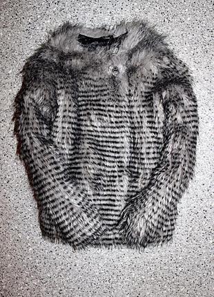 Куртка из меха 3-4 года