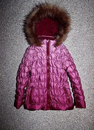 Куртка пальто 3-4 года