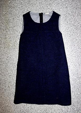 Платье сарафан 9-10 zara