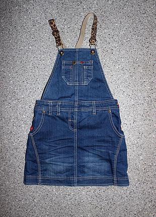 Сарафан 7-8 лет джинсовый
