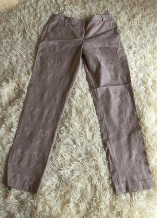 Нарядные брюки классического кроя