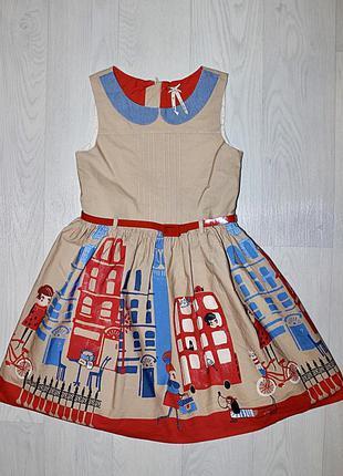 Платье 2-3 8-9 лет next