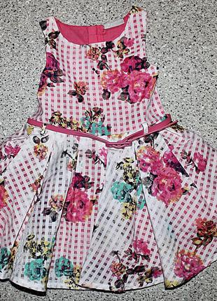 Платье 2-3 5-6 лет