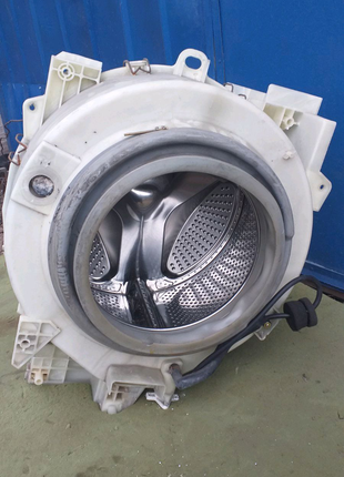 Бак с барабаном в сборе стиральной машины Samsung
