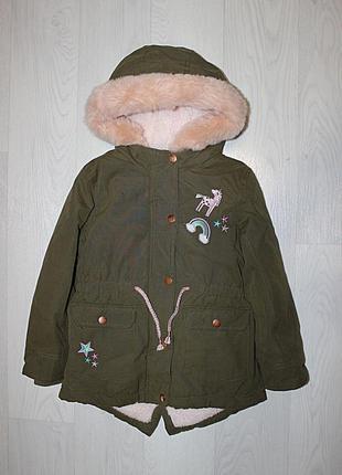 Парка куртка еврозима 5-6