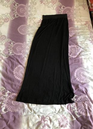 Длинная трикотажная юбка vero moda