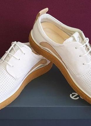 Кроссовки, мокасины ecco crepetray. оригинал. размер 40.